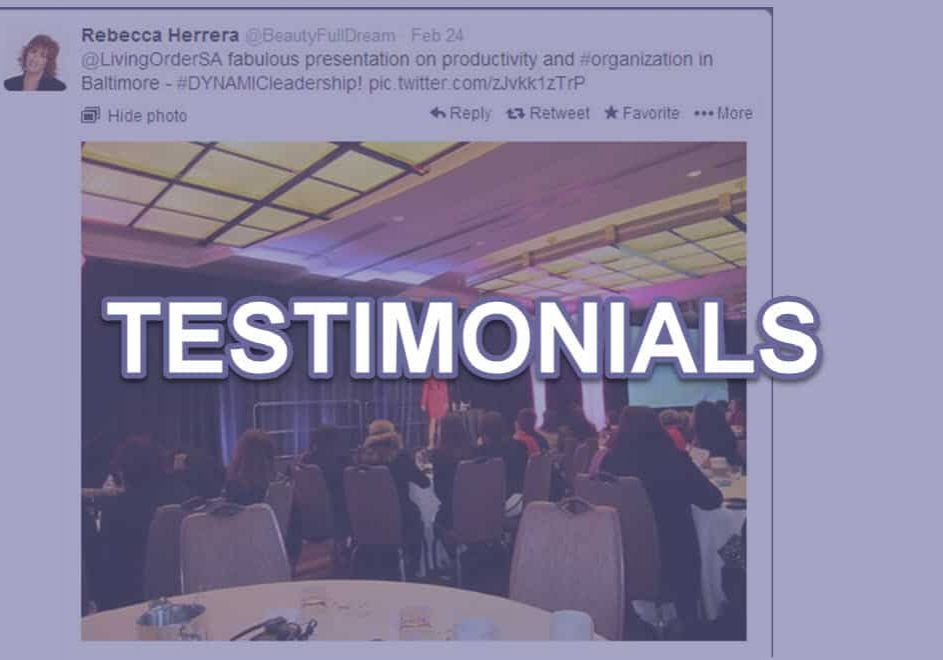 time-management-speaker-testimonials