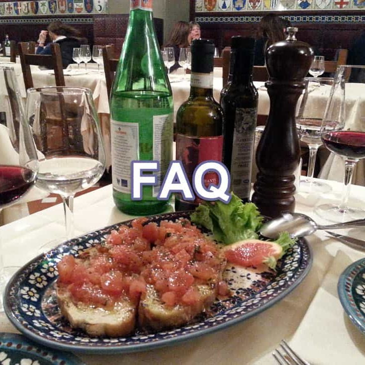 Villages-in-Italy-Italian-food_FAQ_menu